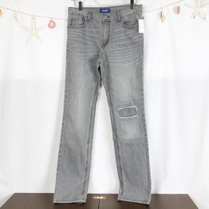 Old Navy denim jeans gray wash size 16.       K033